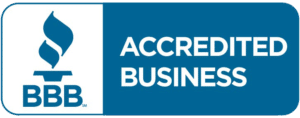 A link to the better business bureau website. This link will open in a new WINDOW.