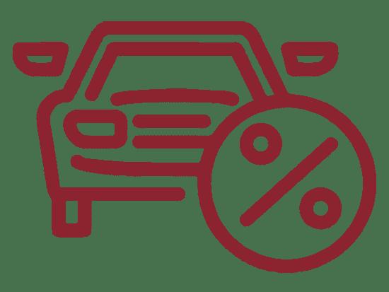 car percentage illustration